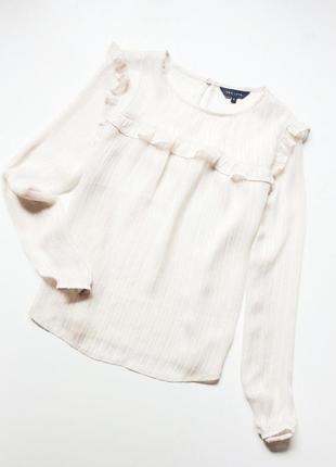 New look блуза с рюшами