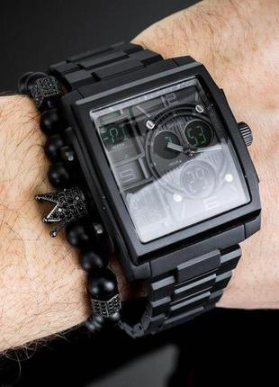 Часы мужские наручные skmei black