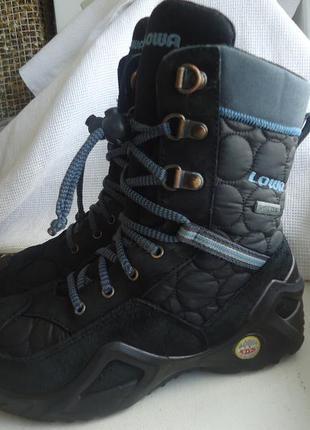 Ботинки термо lowa, gore-tex 33р.