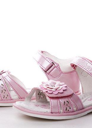 Босоножки для девочки clibee 26, 29, 30, 31(р) розовый f209(роз)