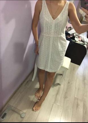 Платье с открытой спиной zara trafaluc новое