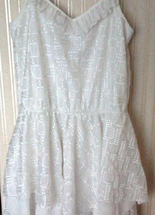 Нежнейшее летнее платье bershka