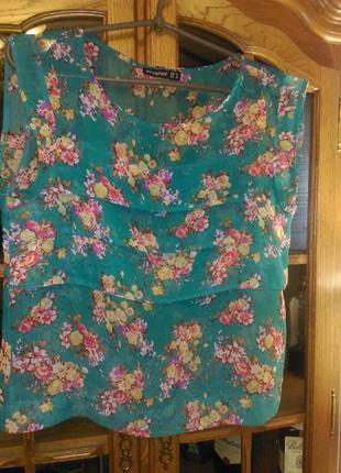 Милая блузка из шифона