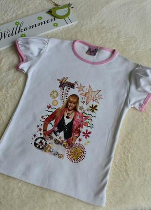 Модная футболочка для стильной девочки.