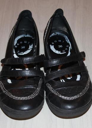 Удобные туфельки naomi, р.36