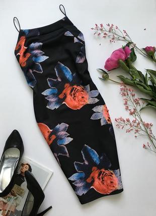 Платье в розы ax paris