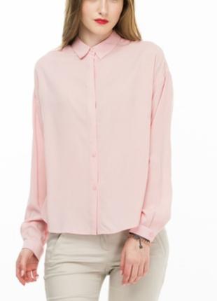 Хлопковая блузка с длинным рукавом  spring fashion (т/м весна)
