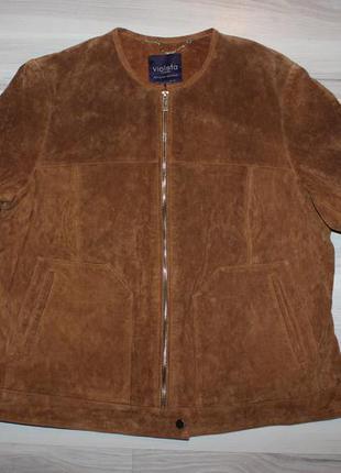Violeta by mango замшевая куртка бомбер, оригинал, как новая, натуральная замша