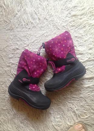Сноубутсы, сапоги камик winter boot kamik us 12 (18.5см)