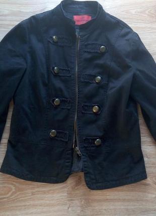 Коттоновый жакет куртка