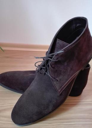 Туфли ботинки чиносы черевики новые кожаные 45