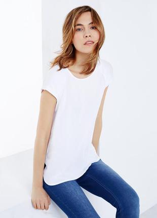 Белоснежные футболки tcm tchibo 40-50 евро