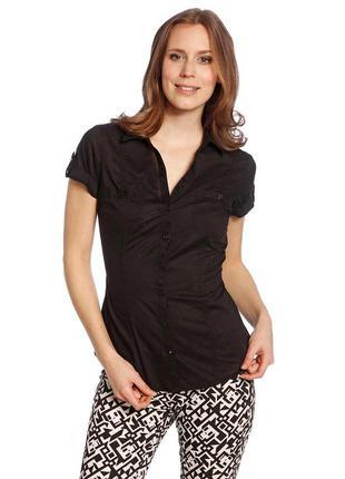 Женская черная рубашка от c&a