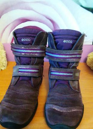 Сапоги сапожки ессо 20см стелька деми ботинки