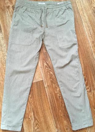 Штаны/брюки в полоску/полосатые