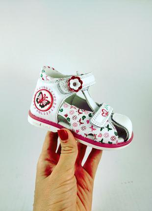Ортопедические босоножки сандали шлепанцы для девочек tom.m 3235a