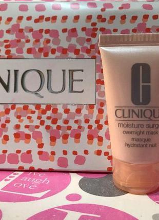 Clinique интенсивно увлажняющая ночная маска moisture surgeбесплатная доставка