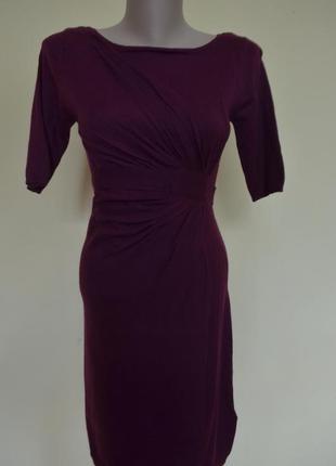 Теплое платье шерсть