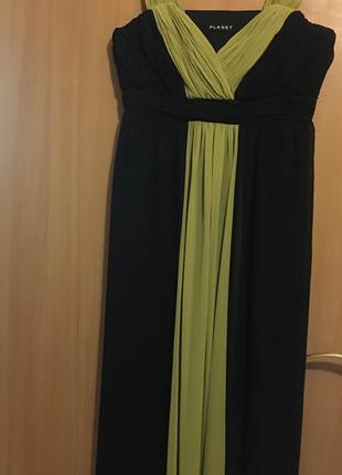 Шикарное длинное платье planet