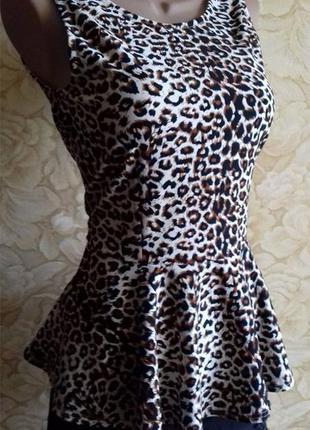 Блуза с баской vero moda