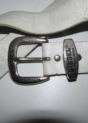 Пряжка diesel petroled extra, металл. + кожаный ремень  сост. отличное!