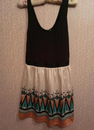 Классное летнее платьеце oasis