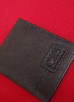 Визитница calvin klein jeans оригинал натур кожа