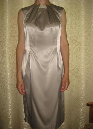 Атласное платье (бельевой стиль) цена договорная