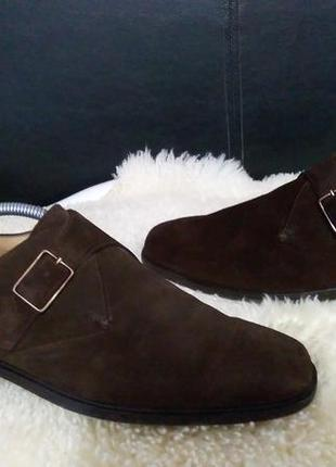 Marks & spencer туфли 43-44 р по ст 29.5 см замша