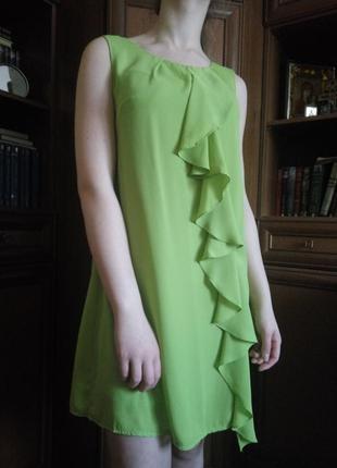 Красивое платье olko салатового цвета.
