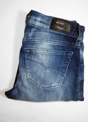 Новые с биркой! diesel grupee super slim skinny джинсы 23 оригинал! дизель скини слим
