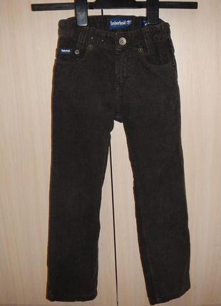 Брюки вельветовые timberland р.114(6 лет) джинсы