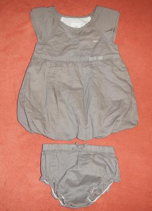 Платье mexx р.68см(6-9мес) платье и трусики