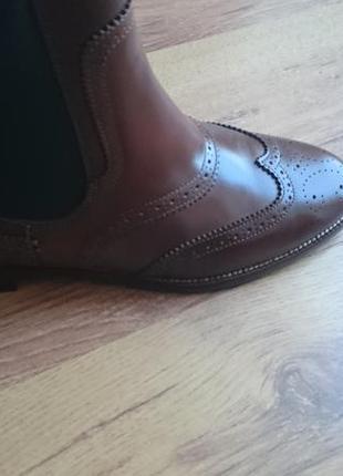 Оригинальные ботинки челси. massimo dutti. р. 37-38
