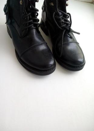 Ботинки унисекс, черные - urban outlaws 35-36 розмер