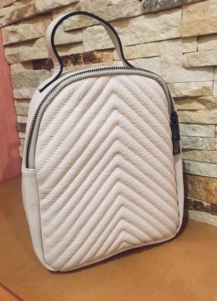 Кожаный рюкзак (натуральная кожа, италия)