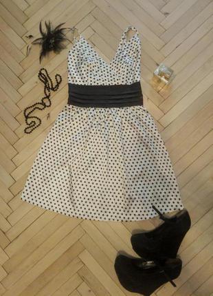 Платье сарафан оджи новое oodji горох бант. и много других моих вещей по низким ценам