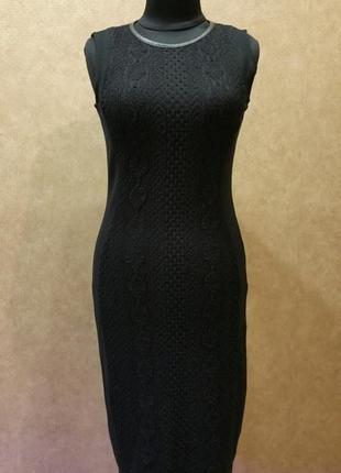 Шикарное платье-миди
