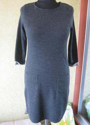 Теплое брендовое платье