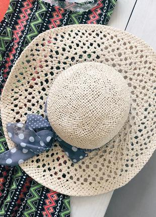 Шляпа с лентой h&m