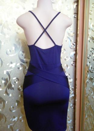 Маленькое вечернее мини платье, сарафан boohoo, евро 12, великобритания.