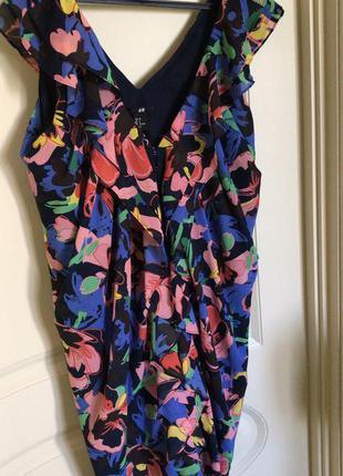 Коктейльное платье сарафан h&m