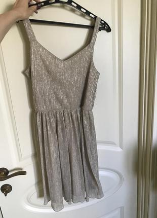 Сарафан платье люрекс clockhouse