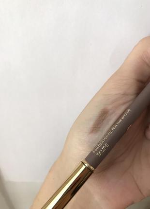 Пудровый карандаш для бровей lancôme taupe оригинал