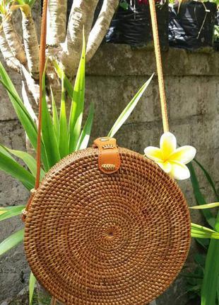 Ротанговая сумка с о.бали1