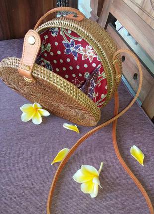 Ротанговая сумка с о.бали3