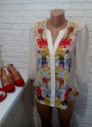 Роскошная, эффектная блуза