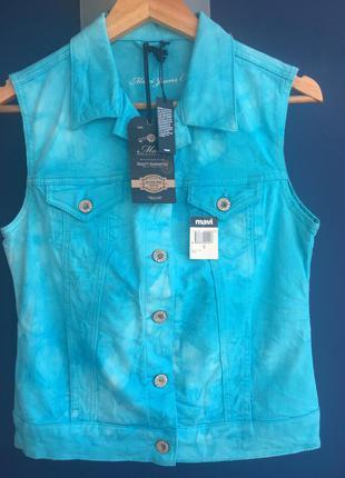Джинсовый жилет mavi