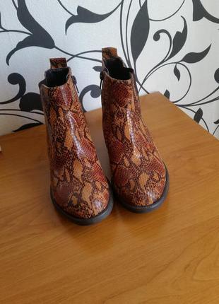 Мега крутые ботинки челси рептилия 😍😎