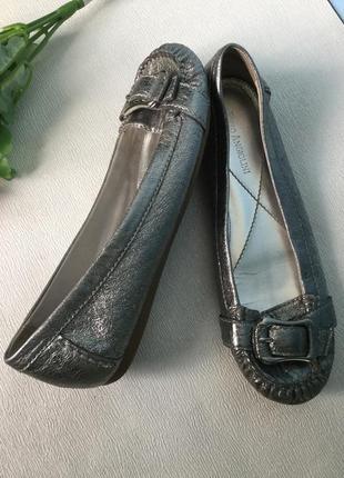 Enzo angiolini  туфли балетки кожаные